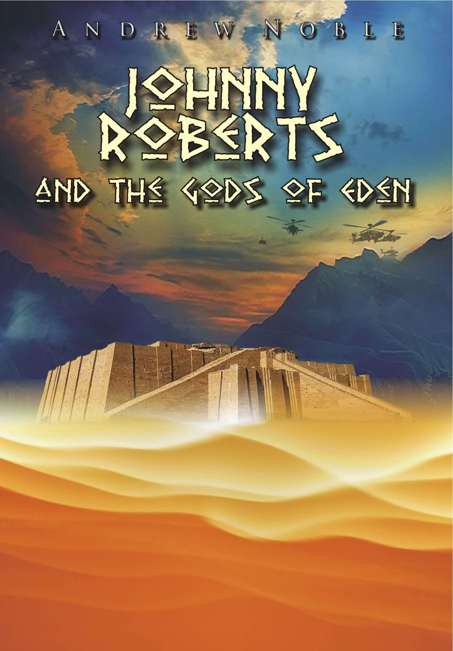 johnny roberts and the gods of eden andrew noble book cover